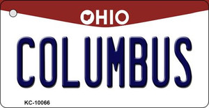Columbus Ohio State License Plate Wholesale Key Chain