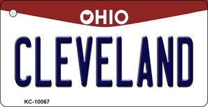 Cleveland Ohio State License Plate Wholesale Key Chain