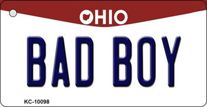 Bad Boy Ohio State License Plate Wholesale Key Chain