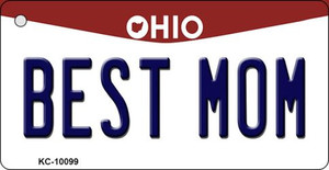Best Mom Ohio State License Plate Wholesale Key Chain