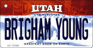 Brigham Young Utah State License Plate Wholesale Key Chain