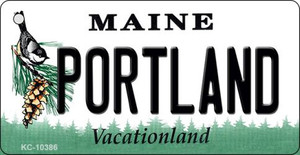 Portland Maine State License Plate Wholesale Key Chain