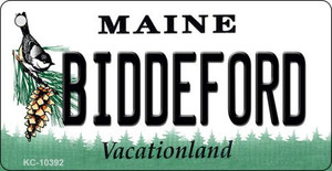 Biddeford Maine State License Plate Wholesale Key Chain