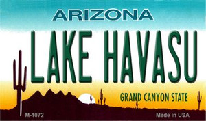 Lake Havasu Arizona State License Plate Wholesale Magnet