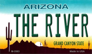 The River Arizona State License Plate Wholesale Magnet