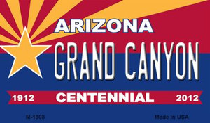 Grand Canyon Arizona Centennial State License Plate Wholesale Magnet