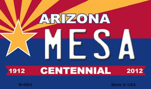 Mesa Arizona Centennial State License Plate Wholesale Magnet