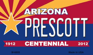 Prescott Arizona Centennial State License Plate Wholesale Magnet