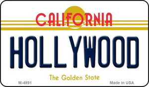 Hollywood California State License Plate Wholesale Magnet