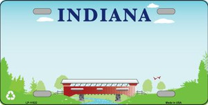 Indiana Recycle Novelty State Background Blank Wholesale Metal License Plate