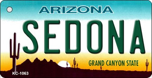 Sedona Arizona State License Plate Wholesale Key Chain