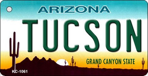 Tucson Arizona State License Plate Wholesale Key Chain