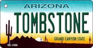Tombstone Arizona State License Plate Wholesale Key Chain