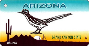 Road Runner Arizona State License Plate Wholesale Key Chain
