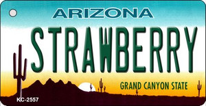 Strawberry Arizona State License Plate Wholesale Key Chain