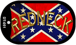 Confederate Redneck Dog Tag Kit Novelty Wholesale Necklace