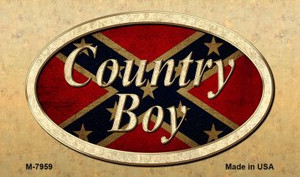 Country Boy Novelty Wholesale Magnet