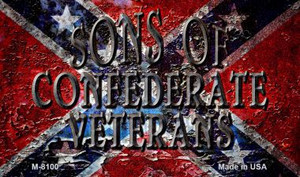 Sons Of Confederate Veterans Novelty Wholesale Magnet