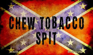 Chew Tobacco Spit Novelty Wholesale Magnet