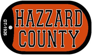 Hazzard County Dog Tag Kit Wholesale Novelty Necklace DT-1926
