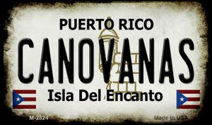 Canovanas Puerto Rico State License Plate Wholesale Magnet