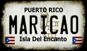 Maricao Puerto Rico State License Plate Wholesale Magnet