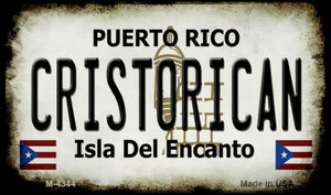 Cristorican Puerto Rico State License Plate Wholesale Magnet