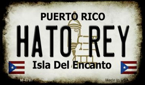 Hato Rey Puerto Rico State License Plate Wholesale Magnet M-4767