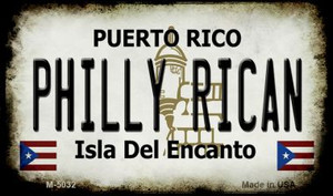 Philly Rican Puerto Rico State License Plate Wholesale Magnet M-5032