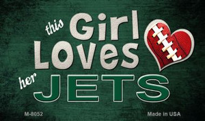 This Girl Loves Her Jets Wholesale Magnet M-8052