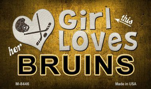 This Girl Loves Her Bruins Wholesale Magnet