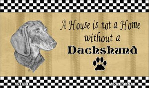 Dachshund Pencil Sketch Wholesale Magnet M-1709