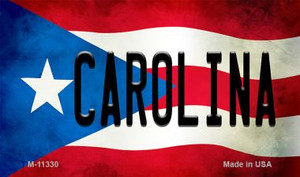 Carolina Puerto Rico State Flag Wholesale Magnet M-11330