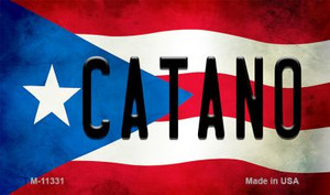 Catano Puerto Rico State Flag Wholesale Magnet M-11331