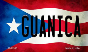 Guanica Puerto Rico State Flag Wholesale Magnet M-11343