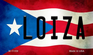 Loiza Puerto Rico State Flag Wholesale Magnet M-11359