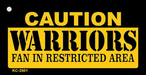 Caution Warriors Fan Area Wholesale Key Chain KC-2601
