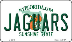 Jaguars Florida State License Plate Wholesale Magnet M-2040