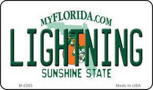 Lightning Florida State License Plate Wholesale Magnet M-2285
