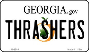 Thrashers Georgia State License Plate Wholesale Magnet M-2286