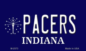 Pacers Indiana State License Plate Wholesale Magnet M-2573