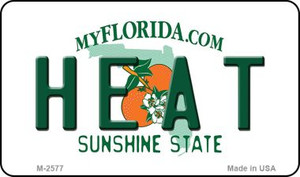 Heat Florida State License Plate Wholesale Magnet M-2577