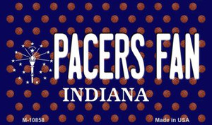 Pacers Fan Indiana State License Plate Wholesale Magnet M-10858
