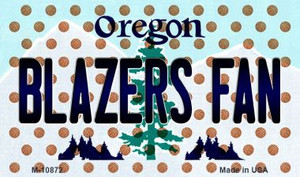 Blazers Fan Oregon State License Plate Wholesale Magnet M-10872