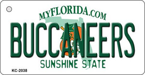 Buccaneers Florida State License Plate Wholesale Key Chain KC-2038