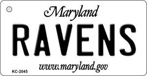 Ravens Maryland State License Plate Wholesale Key Chain KC-2045