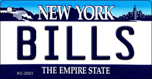 Bills New York State License Plate Wholesale Key Chain KC-2051
