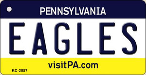 Eagles Pennsylvania State License Plate Wholesale Key Chain KC-2057