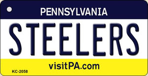 Steelers Pennsylvania State License Plate Wholesale Key Chain KC-2058