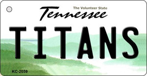 Titans Tennessee State License Plate Wholesale Key Chain KC-2059